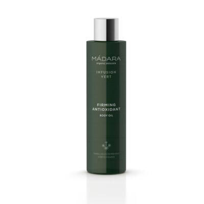 Mádara Infusion Vert Bőrfeszesítő testápoló olaj antioxidánsokkal (200 ml)