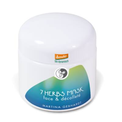 Martina Gebhardt 7-Gyógynövény vitalizáló arc- és dekoltázs maszk (100 ml)