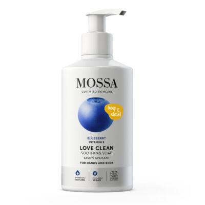 Mossa Love Clean Nyugtató szappan testre és kézre (300 ml)