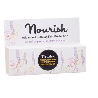 Nourish Golden Glow: Aranyló csillogás hidratáló arckrém