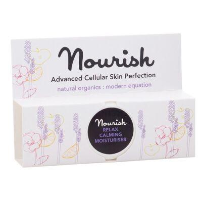 Nourish Relax: Nyugtató archidratáló krém - érzékeny, irritált bőrre