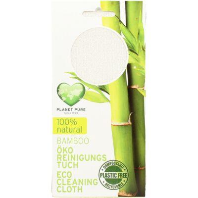Planet Pure Öko bambusz tisztítókendő
