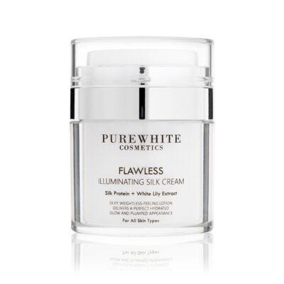 Pure White Ragyogást Adó Arckrém selyemproteinnel, gyöngyházfénnyel (50 ml)