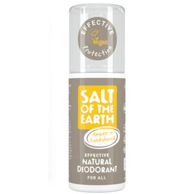 Salt of the Earth Borostyán és szantálfa dezodor spray (100 ml)