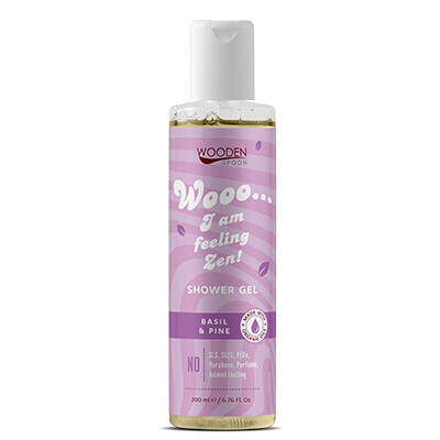 Wooden Spoon Bio tusfürdő - Zen (200 ml)