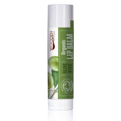 Wooden Spoon Bio ajakbalzsam - Olíva csók