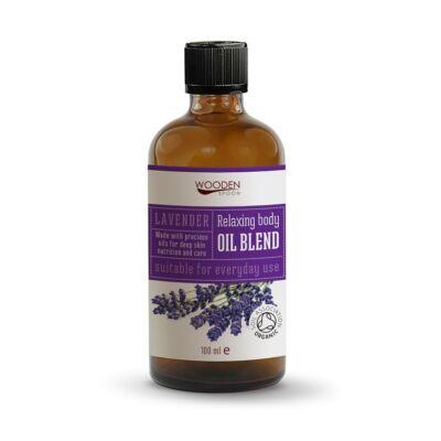 Wooden Spoon Bio relax testápoló olaj