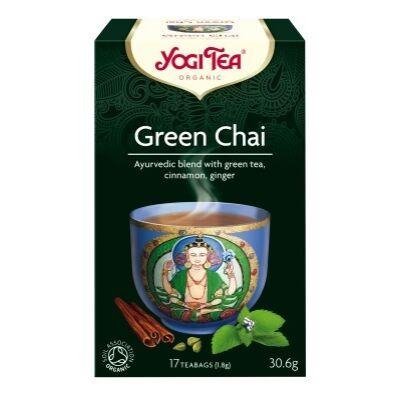 Yogi Zöld chai tea - filteres (17 db)