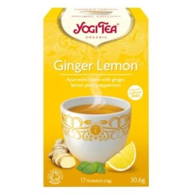 Yogi Citromos gyömbér tea - filteres (17 db)