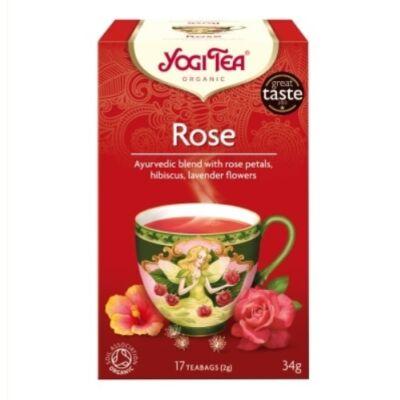 Yogi Rózsa tea - filteres (17 db)