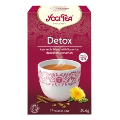 Yogi Tisztító (méregtelenítő) tea - filteres (17 db)