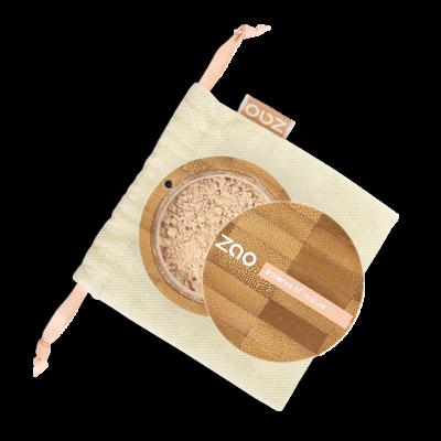 ZAO Ásványi selyempor alapozó sand beige árnyalatban
