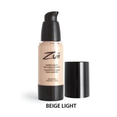 Zuii Folyékony alapozó - Beige Light (30 ml)