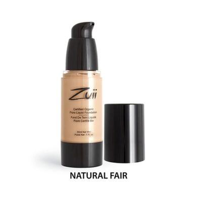 Zuii Folyékony alapozó - Natural Fair (30 ml)