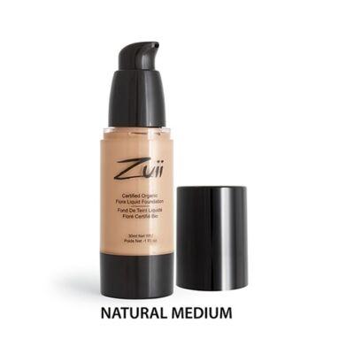 Zuii Folyékony alapozó - Natural Medium (30 ml)