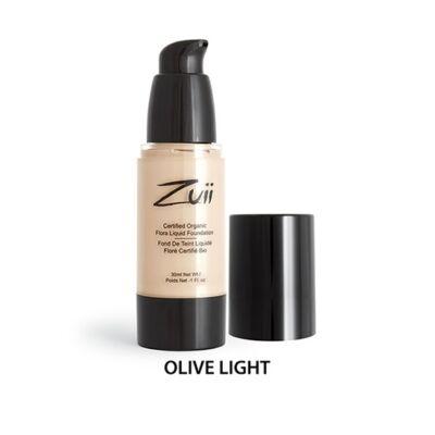 Zuii Folyékony alapozó - Olive Light (30 ml)