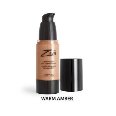 Zuii Folyékony alapozó - Warm Amber (30 ml)