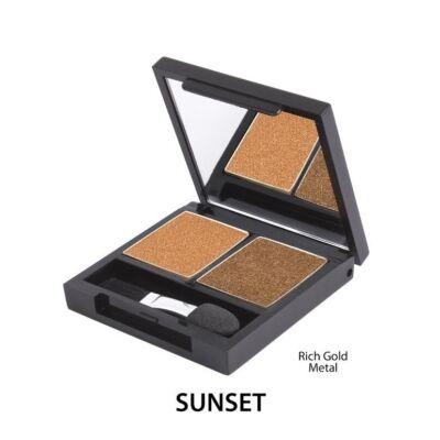 Zuii Szemhéjpúder DUO Paletta - Sunset (3,5 g)