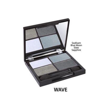Zuii Szemhéjpúder QUAD Paletta - Wave (6 g)