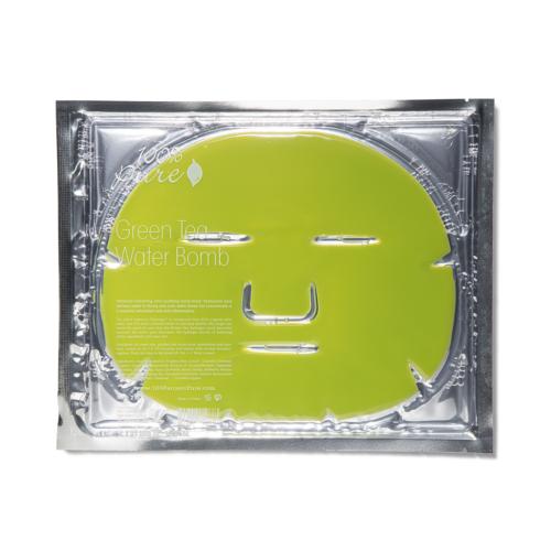 100% Pure Hidrogél arcmaszk zöld teával (60 g)