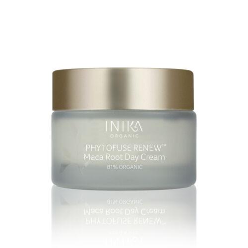 INIKA Skincare Phytofuse Renew Maca root Bőrmegújító nappali krém (50 ml)