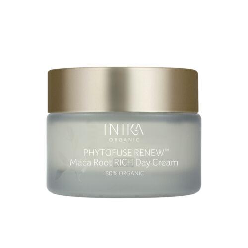 INIKA Skincare Phytofuse Renew Maca root Rich Bőrmegújító nappali krém (50 ml)