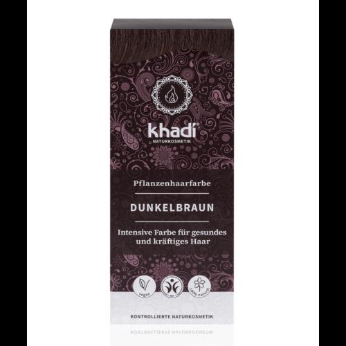 Khadi Növényi hajfesték por sötétbarna