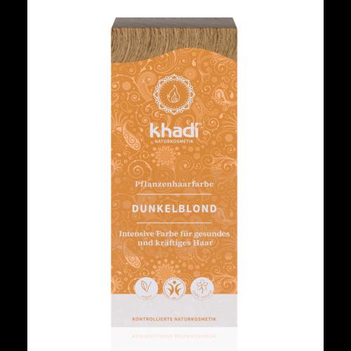 Khadi Növényi hajfesték por sötétszőke (100 g)