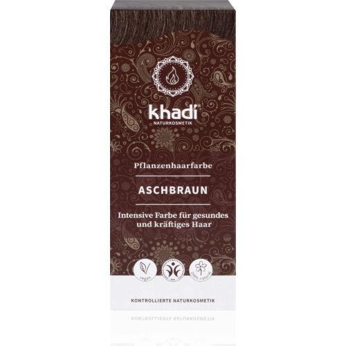 Khadi Növényi hajfesték por hamvasbarna (100 g)