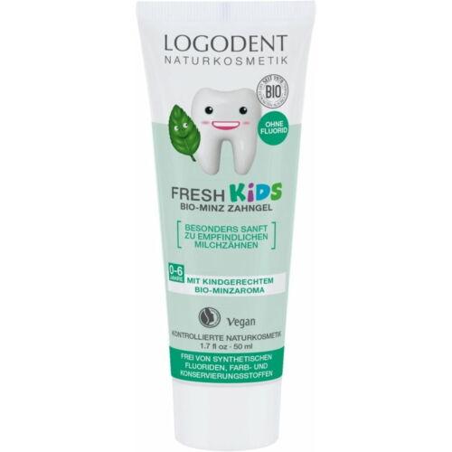 Logona Logodent Gyermekfogkrém fluoridmentes, fodormenta ízesítésű