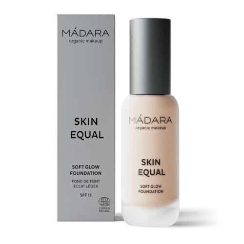 Mádara Skin Equal Soft Glow Folyékony alapozó - Porcelain #10 (30 ml)