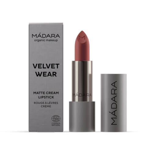 Mádara Velvet Wear Matt krémes ajakrúzs - warm nude (3,8 g)