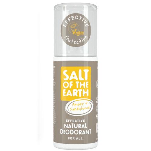 Salt of the Earth Borostyán és szantálfa dezodor spray (100 ml)