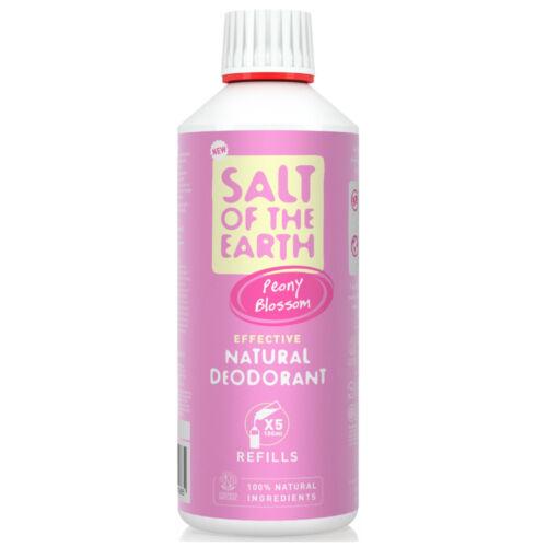 Salt of the Earth Bazsarózsa virág dezodor spray - utántöltő (500 ml)
