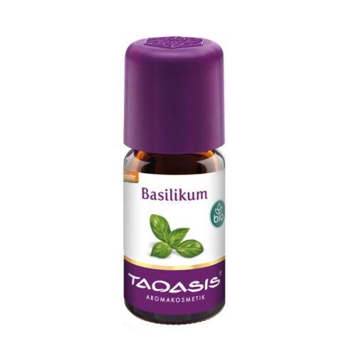 Taoasis Bazsalikom bio illóolaj (5 ml)