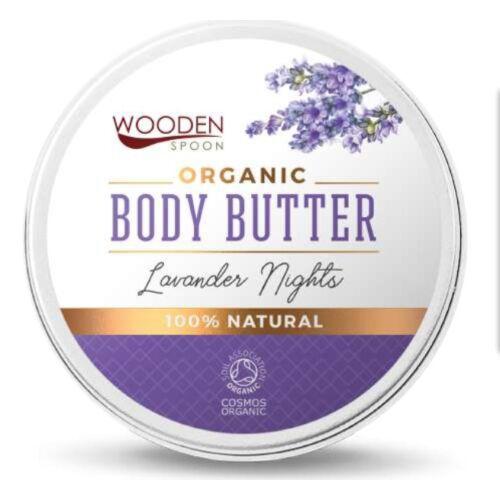 Wooden Spoon Bio testápoló vaj - Levendula álom ÚJ (100 ml)