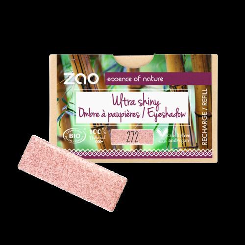 ZAO Szögletes szemhéjpúder 272 fairy pink - utántöltő (1,3 g)