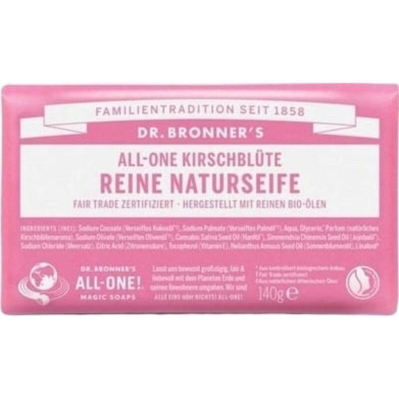 Dr. Bronner's Cseresznyevirág szilárd szappan (140 g)