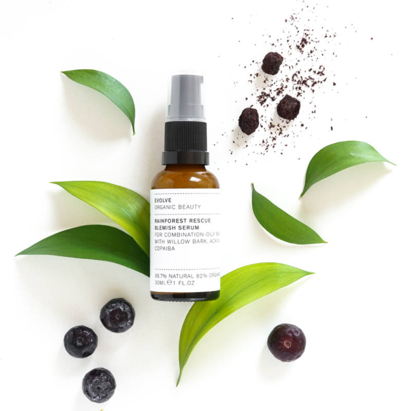 Evolve Beauty Rainforest Rescue szérum problémás bőrre (30 ml)