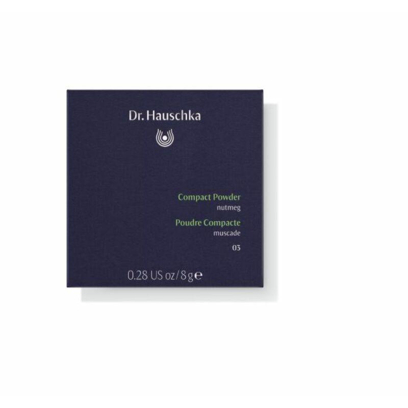 Dr. Hauschka Kompakt púder 03 (szerecsendió) csomagolásban