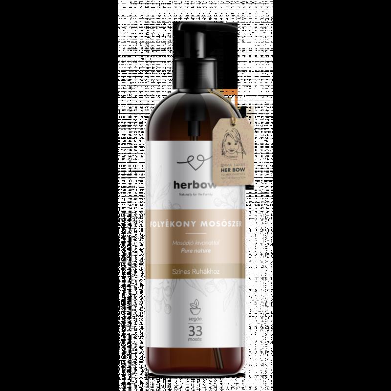 Herbow Folyékony mosószer színes ruhákhoz - natúr (1000 ml)