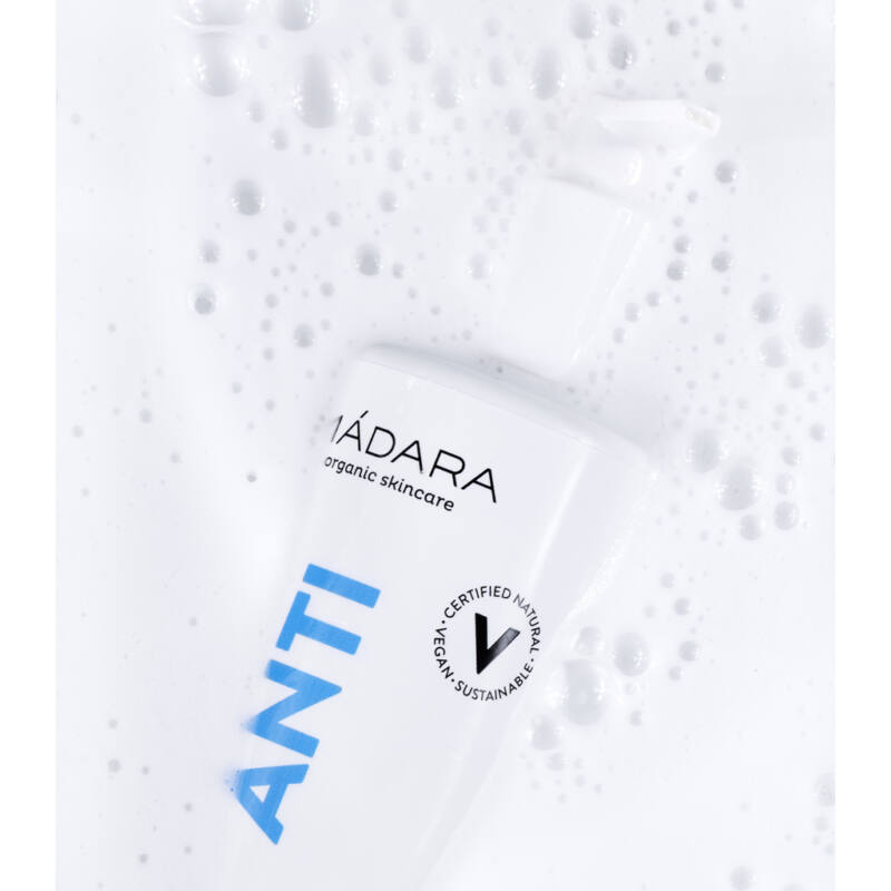Mádara Anti 20sec Kéztisztító szappan antibakteriális növényi kivonatokkal (300 ml)
