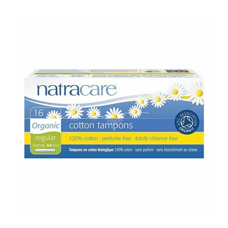 Natracare bio tampon - normál (20 db)