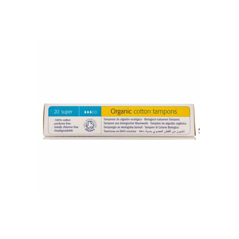 Natracare bio tampon - super (20 db)