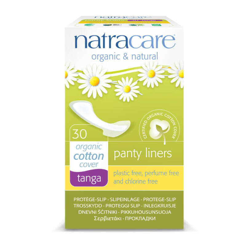 Natracare bio tisztasági betét - tanga (30 db)