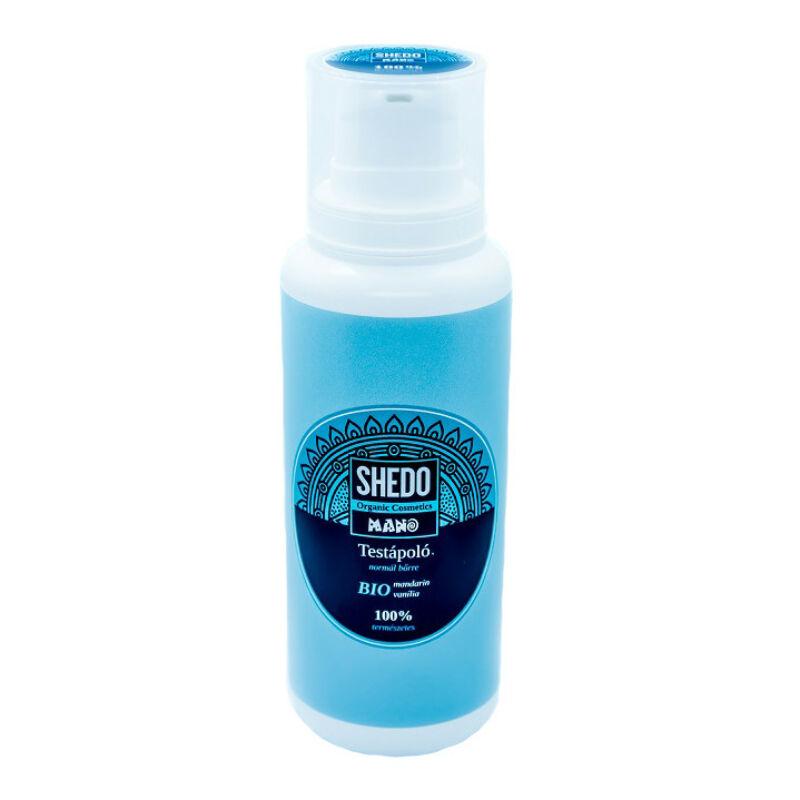 SHEDO Manó Testápoló normál bőrre mandarin-vanília (200 ml)