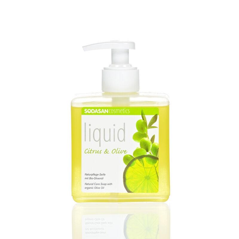 Sodasan BIO Folyékony szappan – citrom-olíva