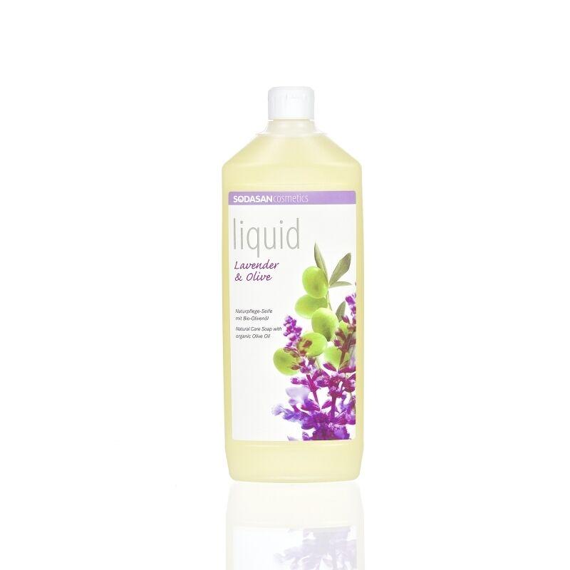 Sodasan BIO Folyékony szappan – levendula-olíva