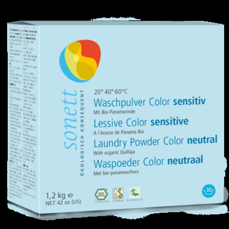 Sonett Mosópor színes ruhához - szenzitív (1,2 kg)