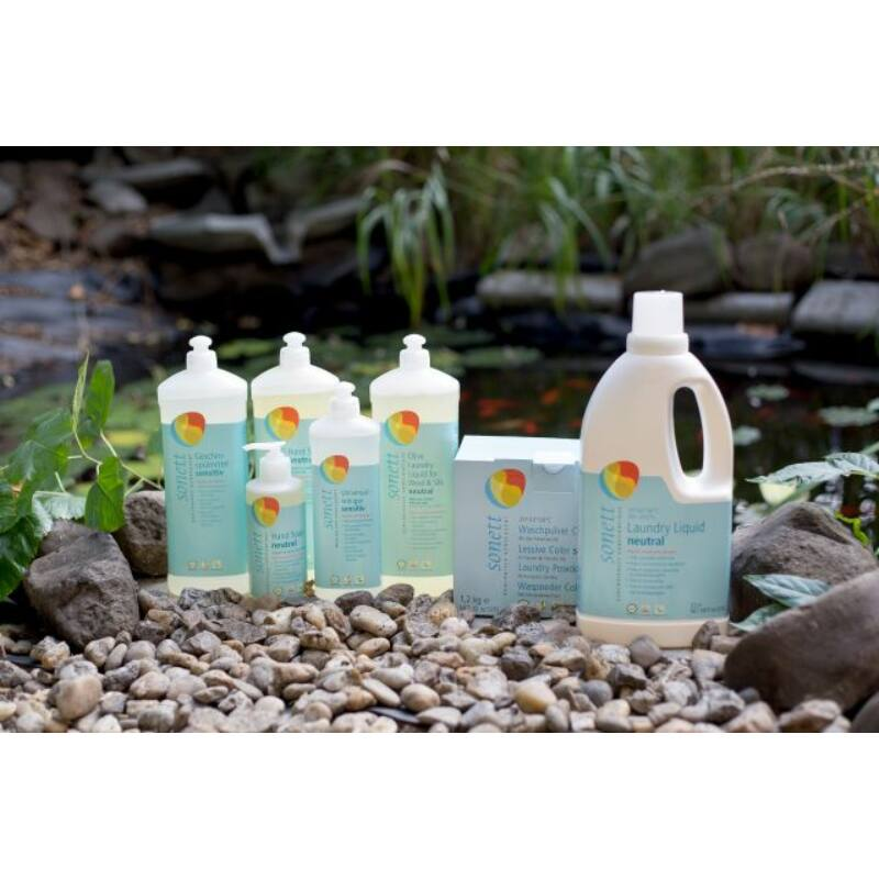 Sonett Folyékony mosószer gyapjúhoz és selyemhez - olíva, szenzitív (1 l)